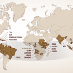 Кафе регионите по света