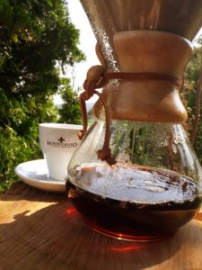 Montecristo coffee extraction